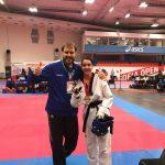 Chahrazed Bougharara Taekwondourheilijat 2011 taekwondo Teemu Heino